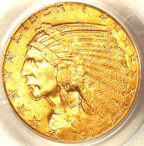 1912 $5 MS63 PCGS-PQ-ONLY 555 IN HIGHER GRADE-MINTAGE 790,000-INDIAN