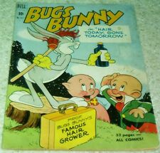 Bugs Bunny Hair Today Gone Tomorrow Four-Color 317 (FN 6.0) 1951, 50% off Guide!