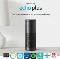 Amazon Echo Plus 1st Gen Music Speaker with Smart Home Hub & Alexa - NEW SEALED