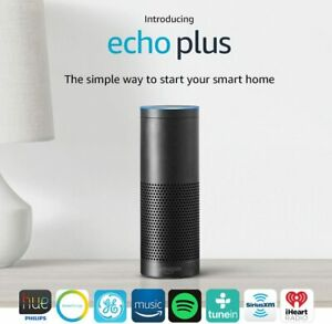 NEW SEALED Amazon Echo+ Plus, 1st Gen Music Speaker with Smart Home Hub & Alexa