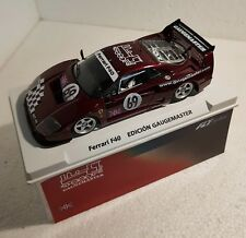 qq 99066 FLY FERRARI F 40 #69 GAUGEMASTER LIMITED EDITION