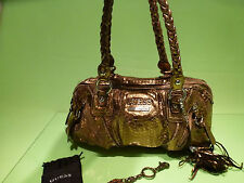 GUESS GOLD BAG - USED VINTAGE BAG -  EXTREMELY  RARE .