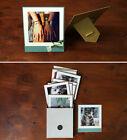 INSTAFRAME - Color - 4x4 Inch Paper Photo Frames -10 Standable Paper Frames Lot