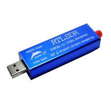 RTL2832U+R820T2 0.1MHz-1.7GHz TCXO ADSB UHF VHF HF FM SDR USB Récepteur Tuner