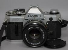 Canon AE-1 35mm film camera with 50mm f1.8 FD lens AE1 - Nice Ex+!