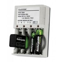 Lloytron Mains Battery Charger 4x Aa Or Aaa,