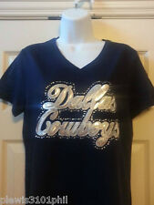 Dallas Cowboys silver sequin hotfix transfer. (TRANSFER ONLY.SHIRT NOT INCLUDED)