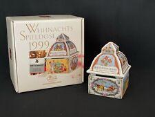 Hutschenreuther Weihnachtsspieldose 1999  Spieldose Weihnachten