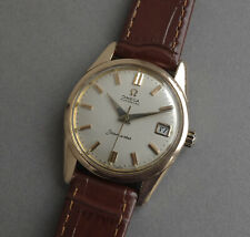 OMEGA Seamaster Gents Vintage 14K Gold Shell Automatic Watch 1960's
