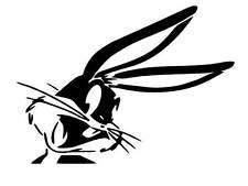 Bugs Bunny vinyl Decal / Sticker