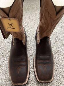Ariat Men's AMOS Barley Brown & Tan Western Boots 10034045