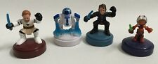 "Star Wars 2008 4 Play-Doh Stamper Stamp 3"" Obi Wan Kenobi R2-D2 Skywalker Ahsoka"