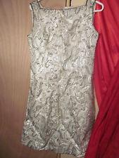 Ladies Silver Beaded Dress Halloween Dress