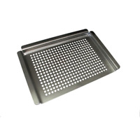 Nexgrill Grill Topper Stainless Steel Grilling Vegetable Cooking Accessory Bbq