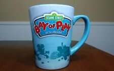 SEAWORLD Bay of Play SESAME STREET Heavy Ceramic Large 16 oz. Mug Cup - 2012