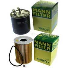 MANN-FILTER Set Mercedes-Benz Gl Class X164 Gl 420 CDI 450 W211 E ML 4matic