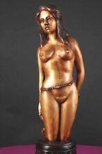 "Original Fueg Bronze Sculpture ""Tyro"" Signed & # Tradional Lost Wax Process"
