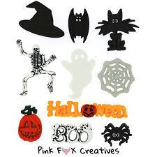 Spaventosi Halloween dress It Up Novità Craft pulsanti Ghost incantesimo di mais SPIDER