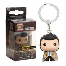 Funko Pocket POP! Hot Topic Exclusive - Supernatural: Castiel & Wings Key Chain