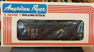 AMERICAN FLYER/Lionel S Scale #6-48602 Erie Covered Hopper Black NIB
