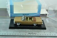 NEO 46081 1959 Oldsmobile 98 Convertible Car Gold 1/43 Scale