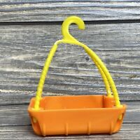 Mattel Diego Animal Rescue  Hanging Rescue Basket Orange Yellow Hook