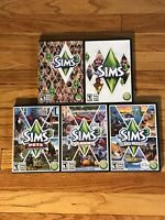 The Sims 3 PC & MAC Video Games - W/ 3 Expansion Packs Included