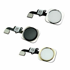 New Home Button Touch ID Key Flex Cable for iPhone 6 6 Plus White Gold Black USA
