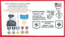 LtCol. Merritt A. Edson USMC Medal of Honor Guadalcanal 1942 CO 1st Raider Bn.