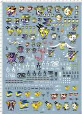 HG MG 1/144 1/100 RX-178 MARK-II AOZ Titans Gundam Model Kit Water Slide Decal