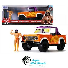 "Jada 1:24 - Hollywood Rides - WWE ""Macho Man"" Randy Savage & 1973 Ford Bronco"