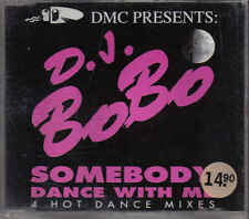 DJ Bobo-Somebody Dance with me cd maxi single