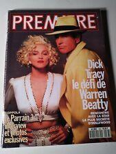 Madonna 1990 Premiere Magazine  Language Other Than English vintage