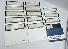 "5.25""  bulk Floppy Disks Disc IBM WORD MICROSOFT LOT PC COMMODORE 64 SOFTWARE"