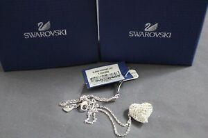 Swarovski Alana Heart Pendant Clear Crystal Pointiage 1121055 NWT