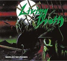 Living Death - Worlds Neuroses CD 2016 2016 digibook repress German thrash