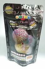 OKIKO FLOWERHORN CICHLID FISH FOOD PLATINUM HEAD HUNCHER COLOR FASTER L 100 g