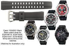 Genuine Casio Edifice Strap.EQW-M710,EQW-M300,EQW-500E,WVQ-143,WVQ-570E,WVQ-510A