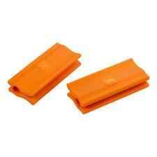 Pentole e padelle arancione in teflon