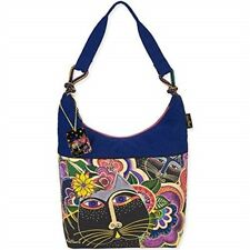 "Laurel Burch Scoop Tote 12.5""x16""x3.5""-carlotta's Cats"