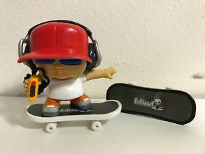 Tech Deck Dudes 2002 Blind Skateboards Mixmaster Rare Figure w/ Two Boards