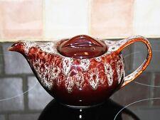 RARE CLASSIC DESIGN 1950'S KERNEWEK BROWN HONYCOMBE GLAZE TEA POT