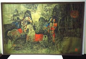 Magnificent Rare LARGE Lebadang 242 / 245 Numbered and Signed Lithograph