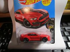 HOT WHEELS Red Ford Shelby GT350R Mustang Night Burnerz #87/250