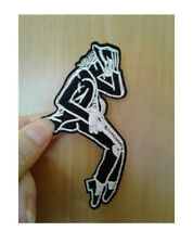 Michael Jackson - King Of Pop - Singer - Music -  Embroidered Iron On Patch