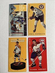 PARKHURST NHL HOCKEY CARDS BLACK HAWKS BRUINS CANADIANS