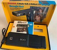 Kodak Tele-Ektralite 600 Camera Vintage Sensalite Flash