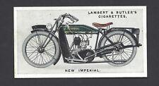 LAMBERT & BUTLER - MOTOR CYCLES - #33 NEW IMPERIAL