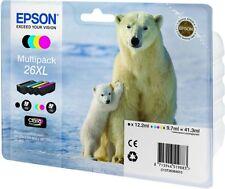 Genuine Epson 26XL Epson Expression Premium XP-700 XP-510 810 Ink C13T26364010