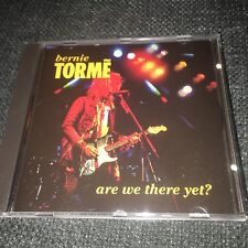 Bernie Tormè Are we there yet? ULTRARARE CD MINT CONDITION Ian Gillan